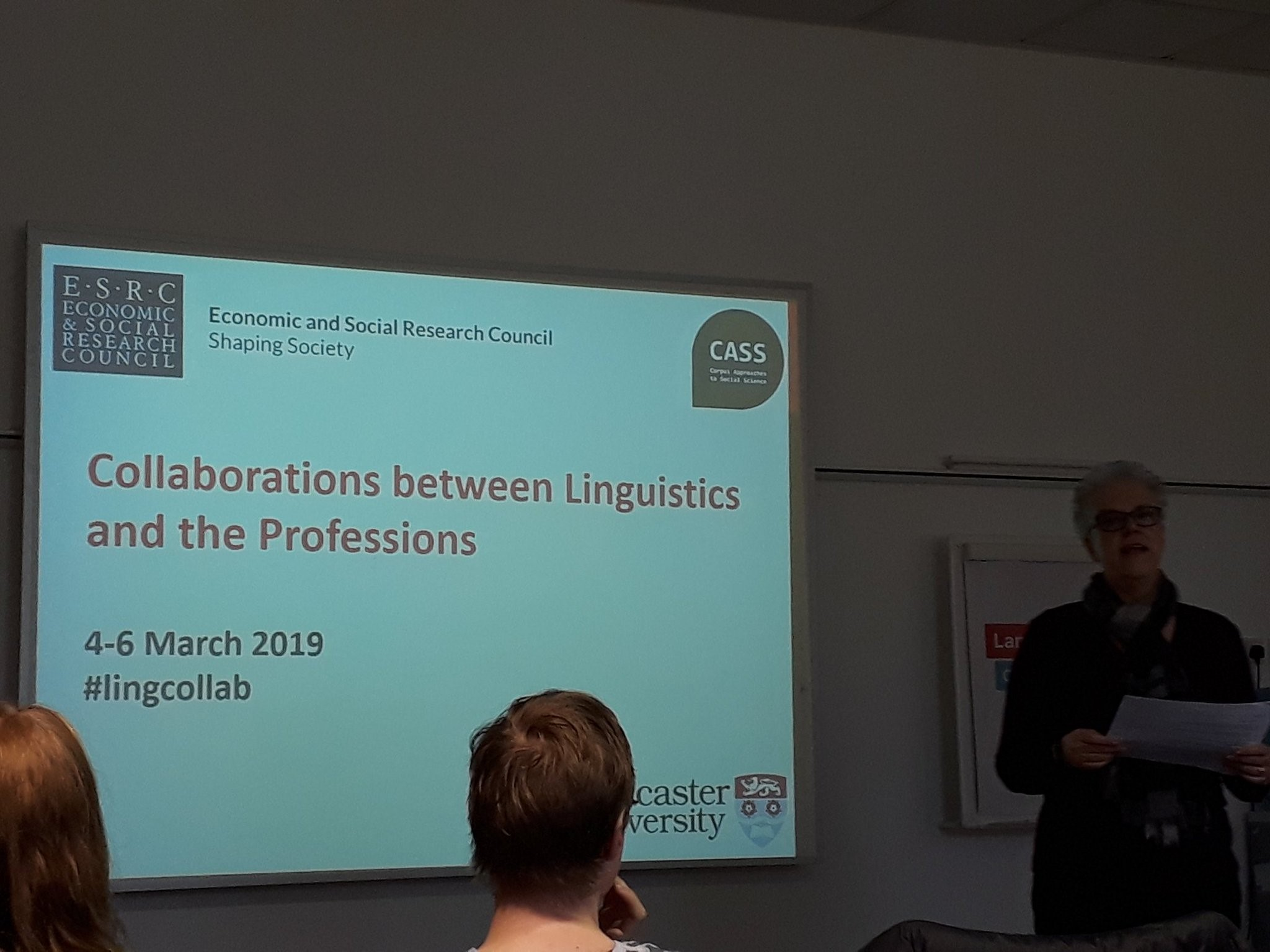 Collaborations between Linguistics and the Professions